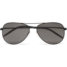 Oliver Peoples - Kannon Aviator-Style Metal Sunglasses