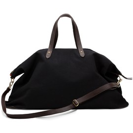 CUYANA - Canvas and Leather Weekender Bag Black