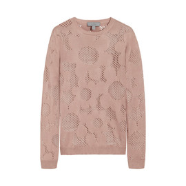 MULBERRY - Lace Flower Jumper
