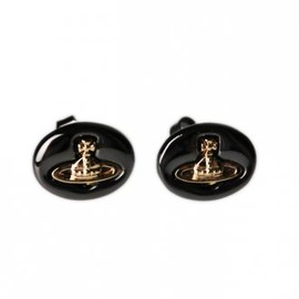 Vivienne Westwood - Embossed Logo Stud Earrings