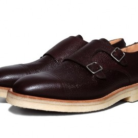 Mark McNairy New Amsterdam - Double Monk Strap Shoe