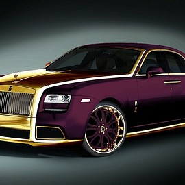 "Rolls-Royce - Ghost ""Paris Purple"""