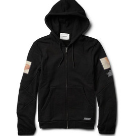 UNDERCOVER - UndercoverPrinted Loopback Cotton-Blend Jersey Hoodie