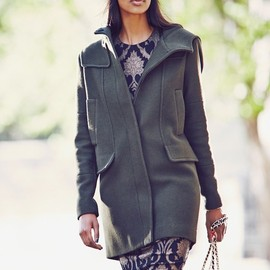 Vince Camuto - Vince Camuto Wool Blend Duffle Coat