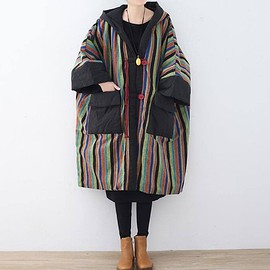 cloak for Women - Women's Winter coat, Cotton oversized Winter clothes, Comfortable maternity padded coat
