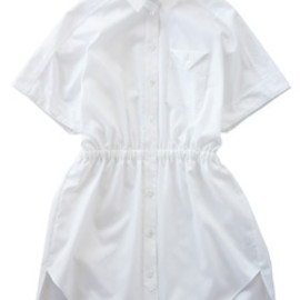 Annc - Oxford Shirt Tunic (white)