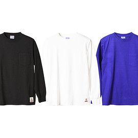 STANDARD CALIFORNIA - SD Heavyweight Pocket Long Sleeve T