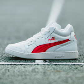 Puma - Boris Becker - White/Red