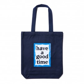 have a good time - BLUE FRAME TOTE NAVY