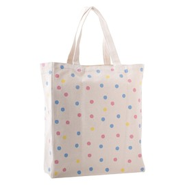 kikki.K - CANVAS TOTE BAG DOTS: CELEBRATE TODAY