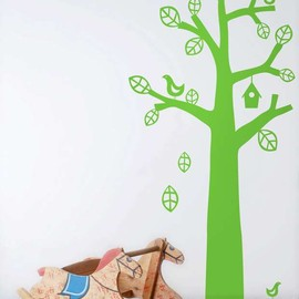 ferm LIVING - BIRD TREE WALLSTICKER