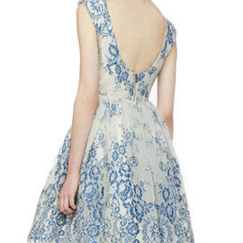 Alice + Olivia - Blue Dress