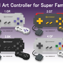 PIXEL ART CONTROLLER FOR SNES