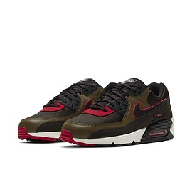 NIKE - Air Max 90 - Baroque Brown/Black/Varsity Red?