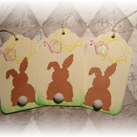 Luulla - Bunny Butts Easter Tags (8)