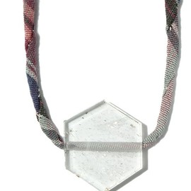 COSMIC WONDER Light Source - HEXAGONAL CRYSTAL NECKLACE