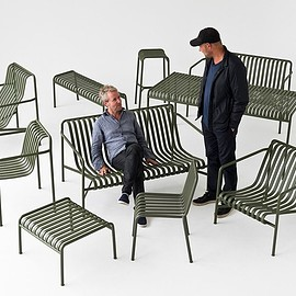 HAY - outdoor furniture designed by Paris based Ronan & Erwan Bouroullec
