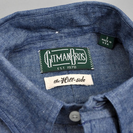 "THE HILL-SIDE ""MADE-TO-ORDER"" GITMAN VINTAGE SHIRT COLLECTION"