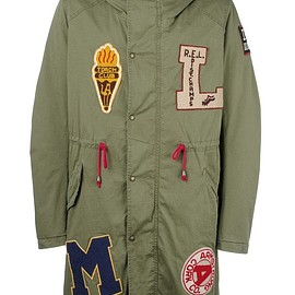 History Repeats - multi patch parka