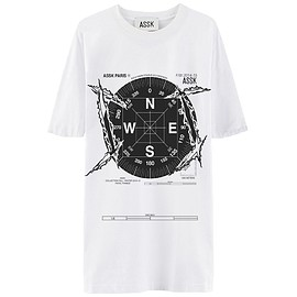 ASSK - COMPASS T-Shirt - White