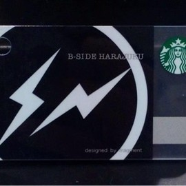 STARBUCKS - STARBUCKS ESPRESSO JOURNEY限定 fragment design mini STARBUCKS CARD Black