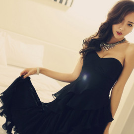 LUXE ASIAN - LUXE ASIAN WOMEN STYLE KOREAN FASHION CLOTHES Crescendo Dress