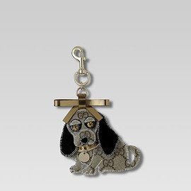 GUCCI - Key ring. 'Cavalier King Charles Spaniel'