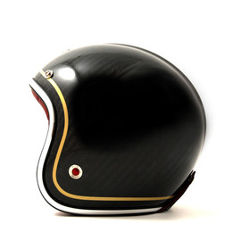 Les Ateliers Ruby - Carbon Black Motorcycle Helmet