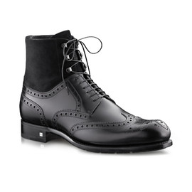 LOUIS VUITTON - Clarence ankle boot in calf