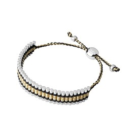 Links of London - Friendship Bracelet - Black and Gold