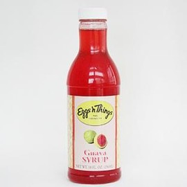 Eggs'n things - guava syrup