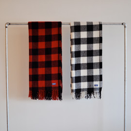 BUFFALO PLAID - FRINGE BLANKET