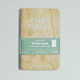 """papierlabo - FIELD NOTES special edition """"Shelterwood"""""""