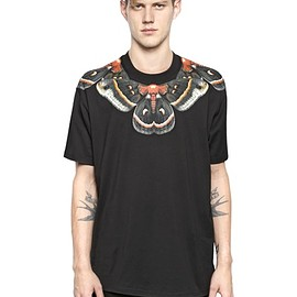 GIVENCHY by Riccardo Tisci - COLUMBIAN FIT BUTTERFLY COTTON T-SHIRT