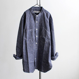 HAVERSACK - Stand Collar Works Shirt