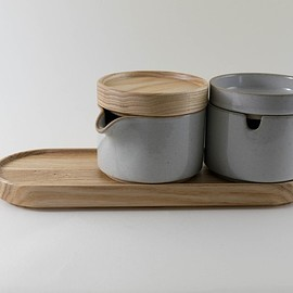 Hasami Porcelain - Oak Tray