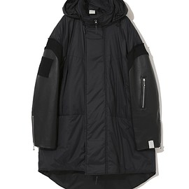 undercover, N.HOOLYWOOD, アンダーカバー - 30th Anniversary  Leather sleeve down jacket / UCZ9206