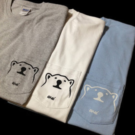 w&i - Big Bear Pocket T-shirt