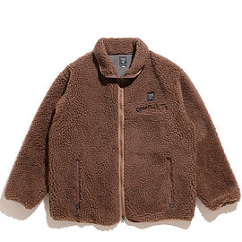 South2 West8 - Piping Jacket-Synthetic Pile-Mocha