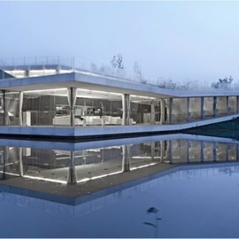 Trace Architecture - Riverside Clubhouse in Jiangsu, China