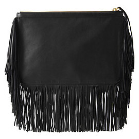 PIERRE HARDY - Fringe clutch bag