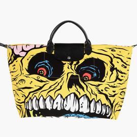 LONGCHAMP - Longchamp x Jeremy Scott x Madballs Pliage Bag