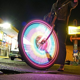 MonkyLetric - MonkeyLight  LED bike wheel