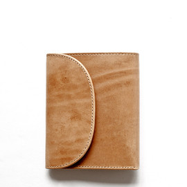 Whitehouse Cox - S1058 SMALL 3FOLD WALLET/Natural Vintage Bridle