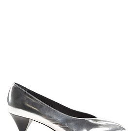 Isabel Marant - Poomi metallic-leather pumps