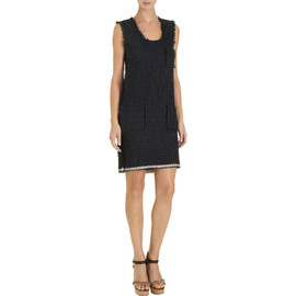LANVIN - Patch Pocket Tank Dress in Summer Tweed
