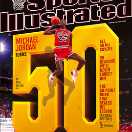 Sports Illustrated - Sports Illustrated - Michael Jordan's 50th Birthday Cover