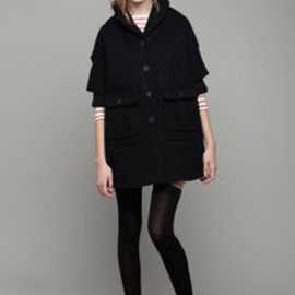 Opening Ceremony - Shawl Collar Dolman Coat