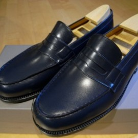 JM Weston - Signature Loafer, Navy