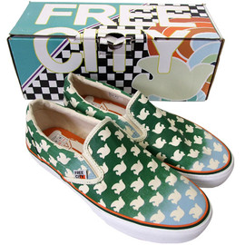 RonHerman FreeCity×VANS - SlipOn